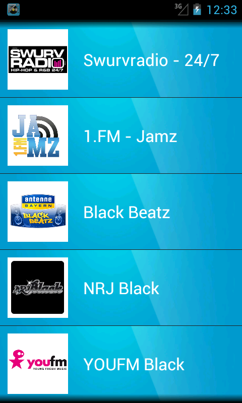 We Urban Radio - screenshot