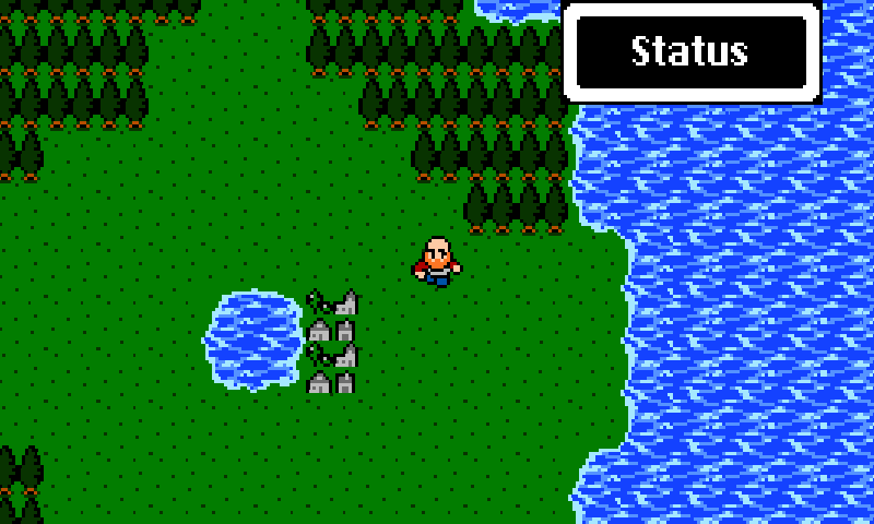 Dragon Fantasy 8-bit RPG - screenshot