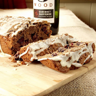 Red Wine Cranberry Nut Bread.