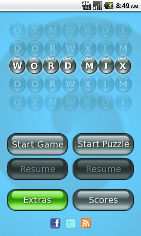 Word Mix ™ - screenshot