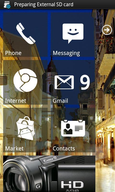 Launcher 7 - Donate - screenshot