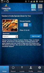 Tandoor of India - screenshot thumbnail