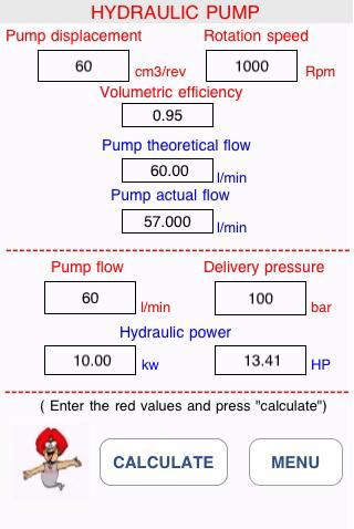 hydraulic motor calculation formulas pdf caferacer