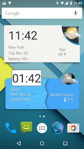 ACW: Amaze Clock Widget v0.63