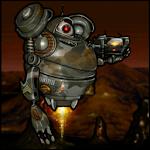 Robot Squad Live Wallpaper