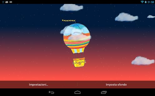 Hot Air Balloon Live Wallpaper - screenshot thumbnail