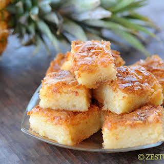 Bibingka – Filipino Coconut Cake.