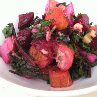 Roasted Root Vegetable Salad.