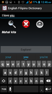 English Filipino Dictionary - screenshot thumbnail