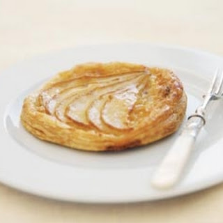 Pear And Almond Tarts.
