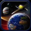 Space live wallpaper icon