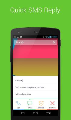 Missed Call+ (Alarm) - screenshot