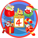 Christmas StickerWidget Fourth logo