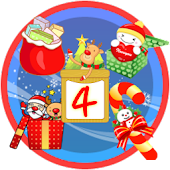 Christmas StickerWidget Fourth