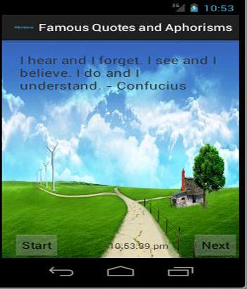 Famous Quotes and Aphorisms