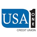 USA One CU Mobile Banking logo