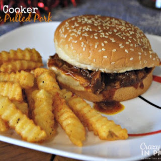 Slow Cooker Barbecue Pulled Pork Sandwiches.