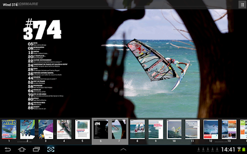 Wind Magazine- screenshot thumbnail