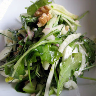 Fennel, Arugula and Green Apple Salad