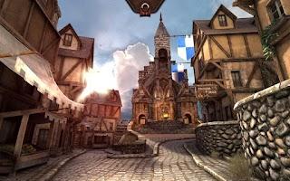 Screenshot of Epic Citadel