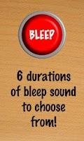 Screenshot of Instant Bleep Button