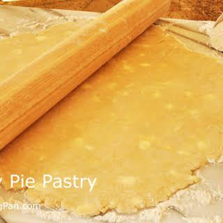 Flaky Pie Pastry.