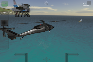 Screenshot of UH60 Helicopter Flight Sim