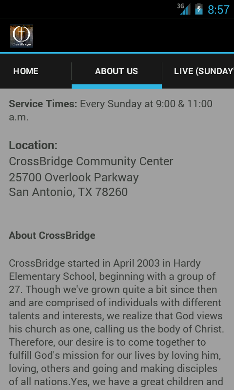 CrossBridge- screenshot