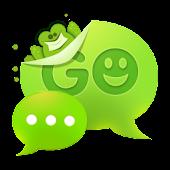 GO SMS Pro Frog Theme Free