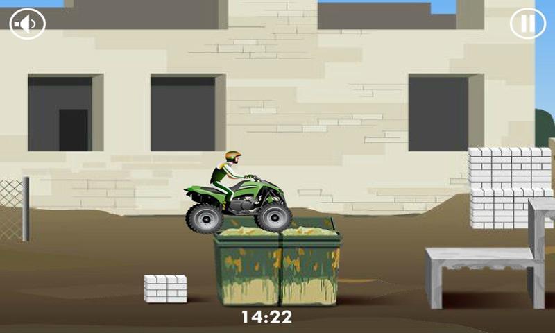 Stunt Dirt Bike - screenshot