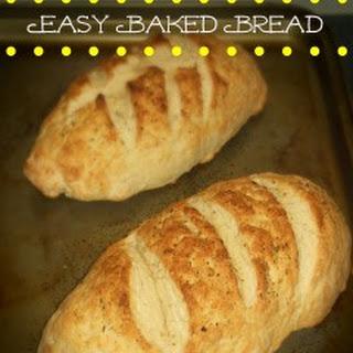 Easy Baked Bread.