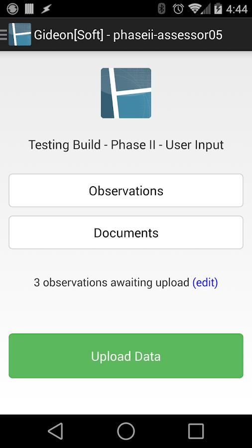 Gideon[Soft] Mobile- screenshot