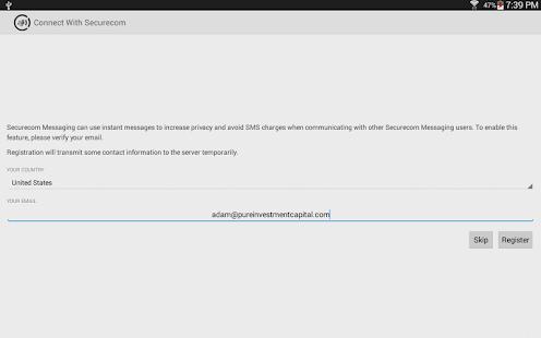 Securecom Messaging
