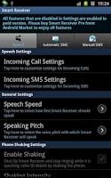 Screenshot of Smart Receiver (Free)