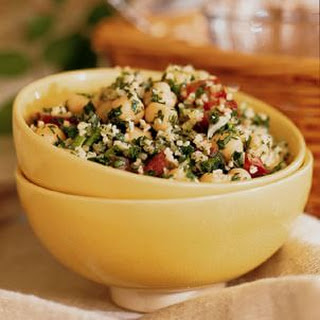Tabbouleh with Chickpeas