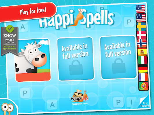 Happi Spells Free - screenshot