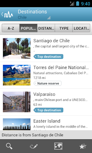 Chile Travel Guide by Triposo