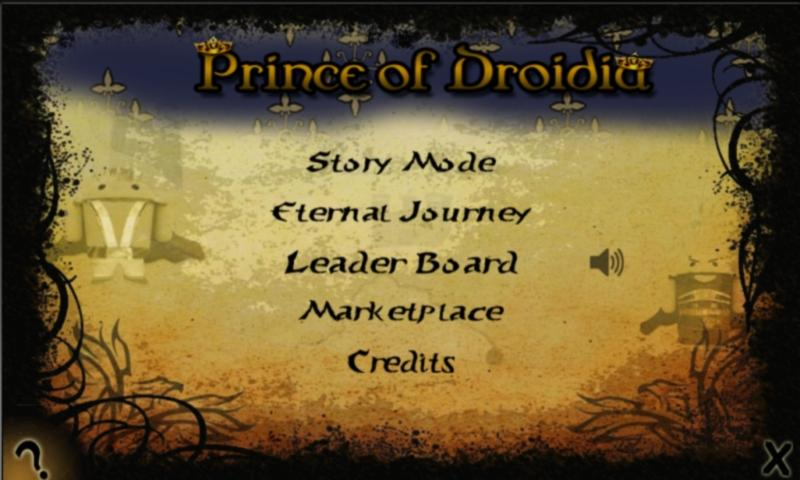 Prince of Droidia- screenshot