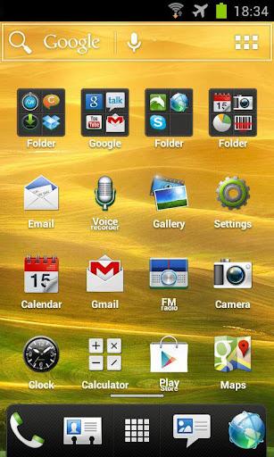 HTC Sense 4 ADW & NOVA Theme v1.8 apk