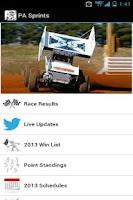 Screenshot of PA Sprints