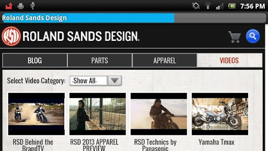 Roland Sands Design - screenshot thumbnail