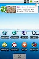 Screenshot of Eco Buzz Widget
