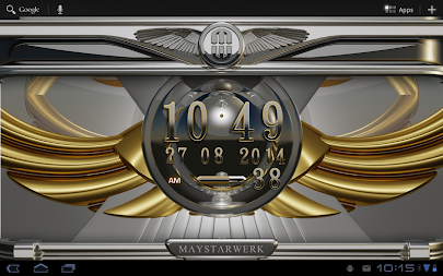 Digi Clock Widget Iridium APK screenshot thumbnail 7