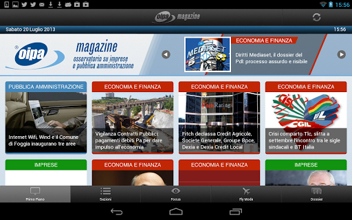 Oipa Magazine for Tablets