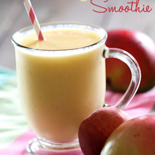 Mango Peach Smoothie.