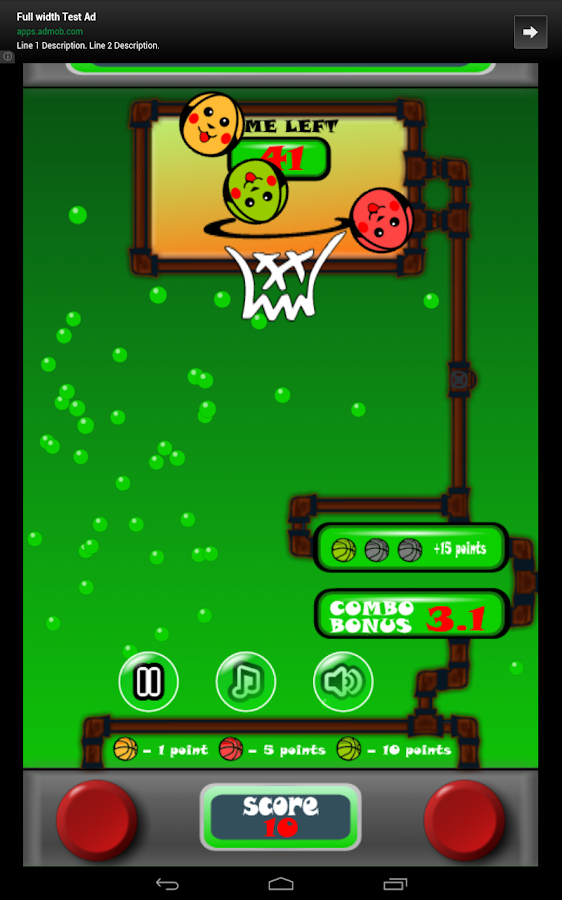 Water Basketball- screenshot