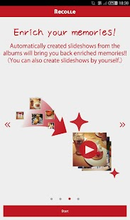Recolle -music image slideshow- screenshot thumbnail