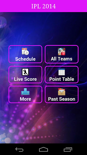 IPL Twenty20 2014 Live App