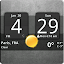 APK App Sense Analog Clock Widget Dark for iOS