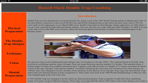 Russell Mark Double Trap Coach
